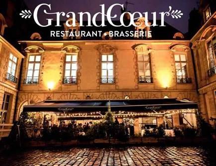 Diner du Congrès  -    Restaurant GrandCoeur - 41 rue du temple à Paris