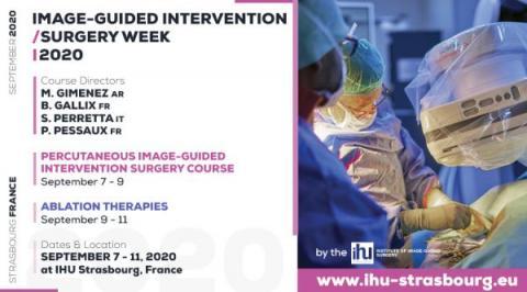 Masterclass en endoscopie bariatrique, 26&27 mai 2020 | IHU Strasbourg & IRCAD